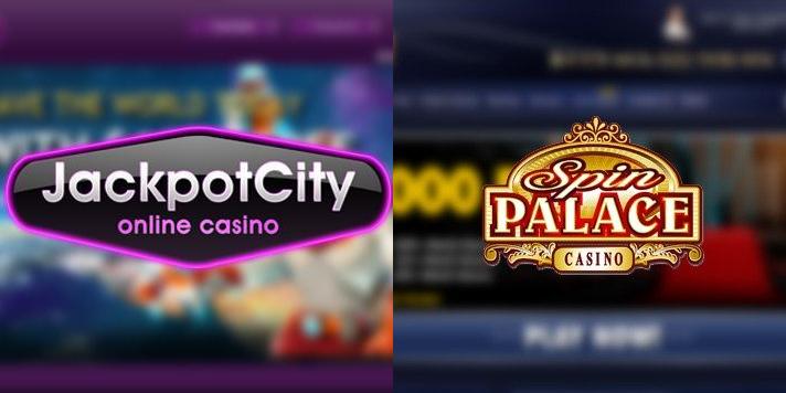 Jackpotcitycasino and Spin Palace